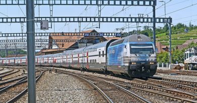 European funding for railway transport projects