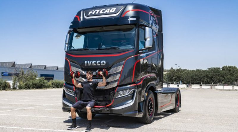 Iveco's fitness-focused truck cabin is more like a gym on wheels