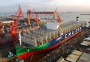 Launching of the World's Largest LNG-Powered Containership and Future CMA CGM Group Flagship
