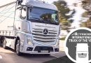 Merceses-Benz's new Actros wins The 2020 international truck of The Year Award