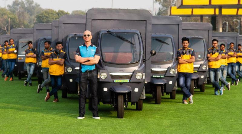 Amazon commits 10,000 electric vehicles to its India delivery fleet by 2025