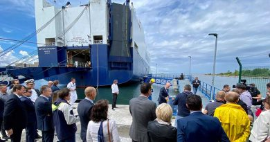 Port of Koper: New facility for the Car teminal