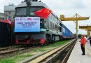 Medical train sent from Nanchang to Paris