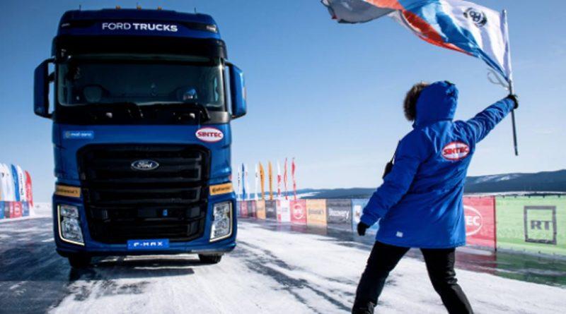 F-MAX – 134 km/h on frozen Lake Baikal (PHOTO, VIDEO)