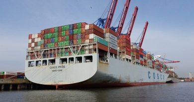 COSCO ulazi u vlasništvo kontejnerskog terminala u Hamburgu